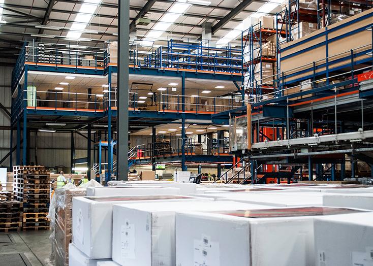 Read more about our storage mezzanine floors for Mezzanine cost estimate