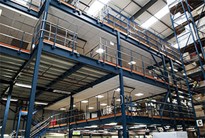 second hand mezzanine floors