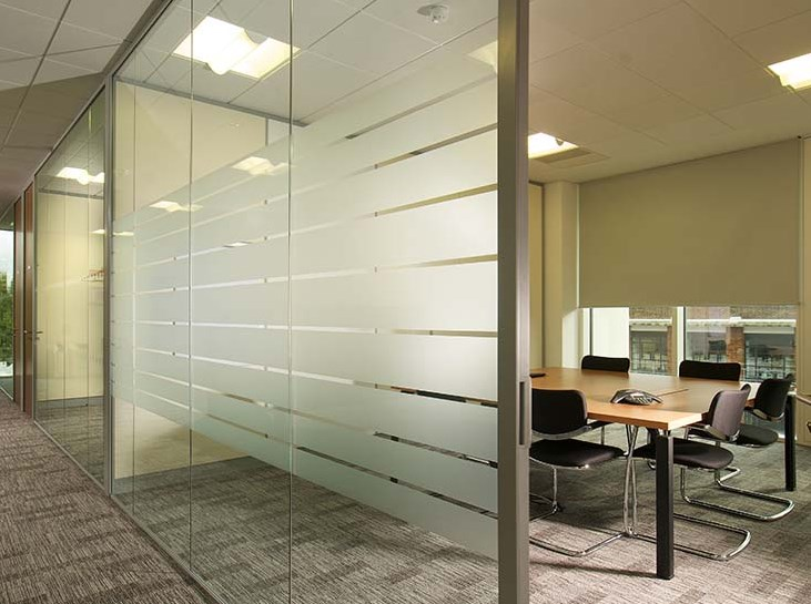 First Floors Glass Partitions