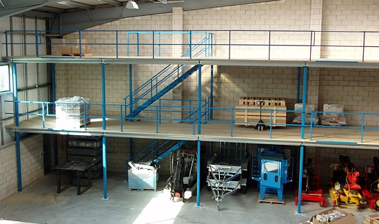 Mezzanine Floors Services : Mezzanine flooring and services across